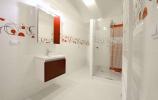 koupelna a WC - novostavby bytu Vyškov 3